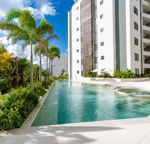 Departamento en renta en Cumbres  Towers cancun